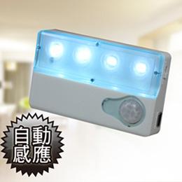 【Marvelmax】超薄迷你紅外線感應LED燈-輔助照明小夜燈(MC0189)