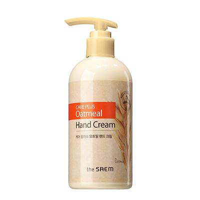 韓國the SAEM Care Plus 燕麥護手霜-300ml Care Plus Oatmeal Hand Cream【辰湘國際】