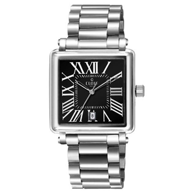 CLOIE 羅馬之愛時尚腕錶-黑/29mm CL10345-CA20