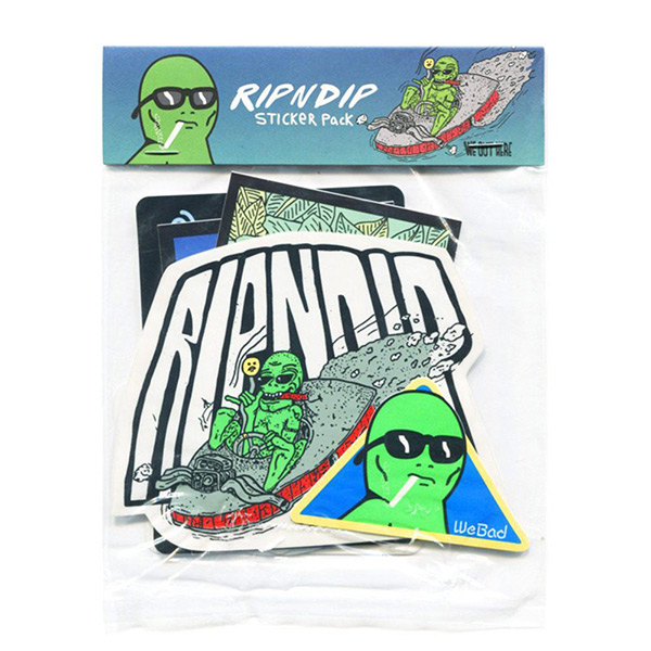 【EST】RIPNDIP SUMMER STICKER PACK 貼紙組合包 [RD-0004-XXX] G0910