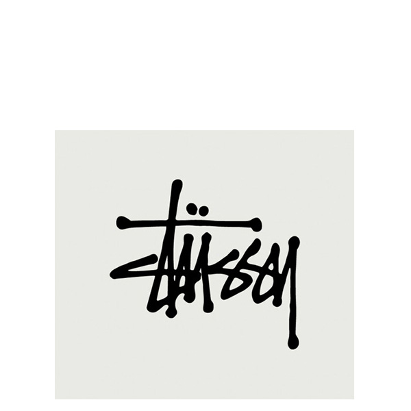 【EST】STUSSY 137002 REGULAR STOCK 貼紙 黑字 小 [ST-5275-002] G0428