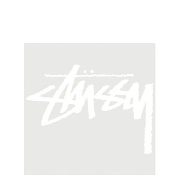 【EST】STUSSY 137143 ORIGINAL STOCK 貼紙 白字 大 [ST-5276-001] G0428