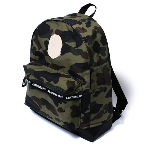 【EST O】A Bathing Ape 1St Camo Day Pack 後背包 綠 G0908