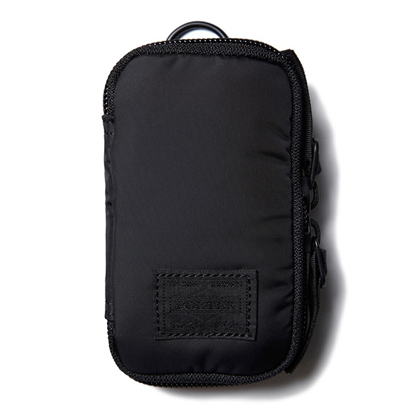 【EST O】Head Porter Black Beauty Zip Key Case 鑰匙包 G0722