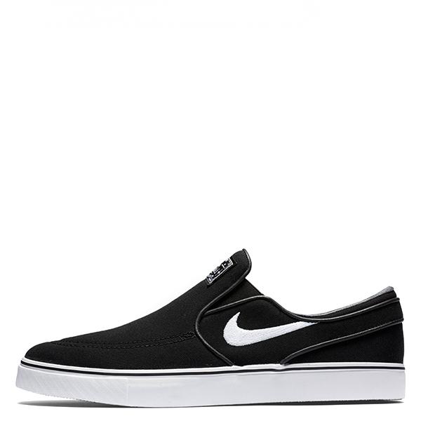 【EST S】Nike Zoom Stefan Janoski Slip 831749-010 滑板鞋 懶人鞋 黑白 G1111