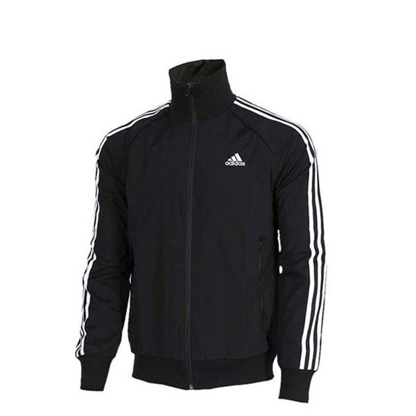 【EST S】Adidas Climalite AY3772 三條線 運動 立領 外套 黑 G1124