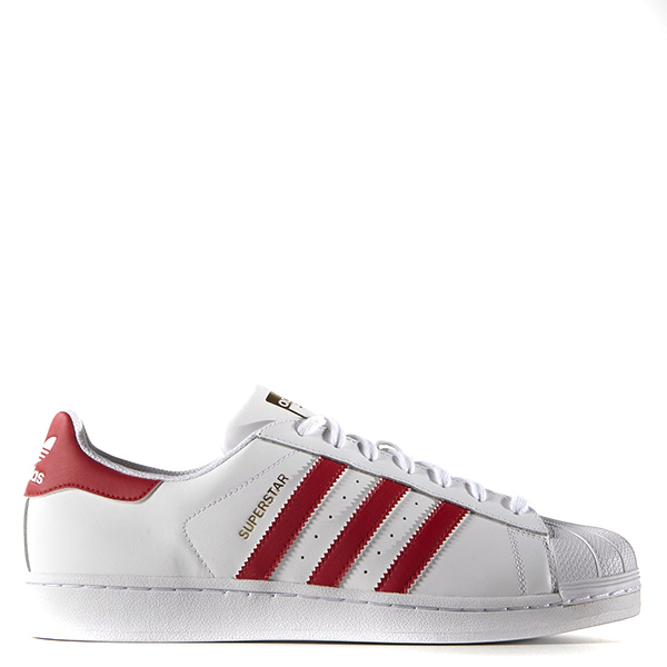【EST S】ADIDAS ORIGINALS SUPERSTAR B27139 紅白金標 貝殼頭 G1111