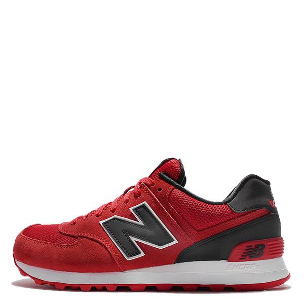 【EST S】New Balance ML574CND 574 麂皮 復古 慢跑鞋 紅 女鞋 H0112