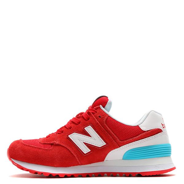 【EST S】New Balance WL574CNC 574 麂皮 復古 慢跑鞋 紅 女鞋 H0112