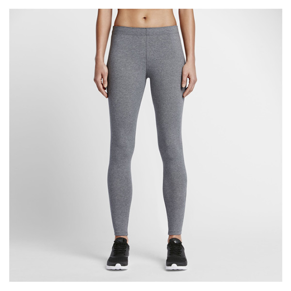【EST S】Nike Leg-A-See Logo 806928-092 內搭 運動緊身褲 女款 灰 G1119