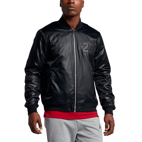 【EST S】Nike Air Jordan 6 Bomber 833919-010 3M反光 皮外套 黑 H0112