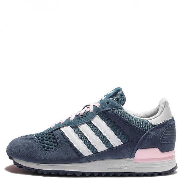 【EST S】ADIDAS ORIGINALS ZX 700 S78940 慢跑鞋 麂皮 藍白粉 G1028