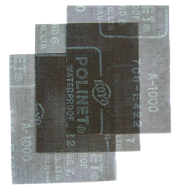 【DUSKIN】瓷器專用水砂網 (3入裝/包)
