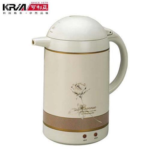 免運費 可利亞 1.5L自動保溫型迷你電熱水瓶/熱水壺 KR-206