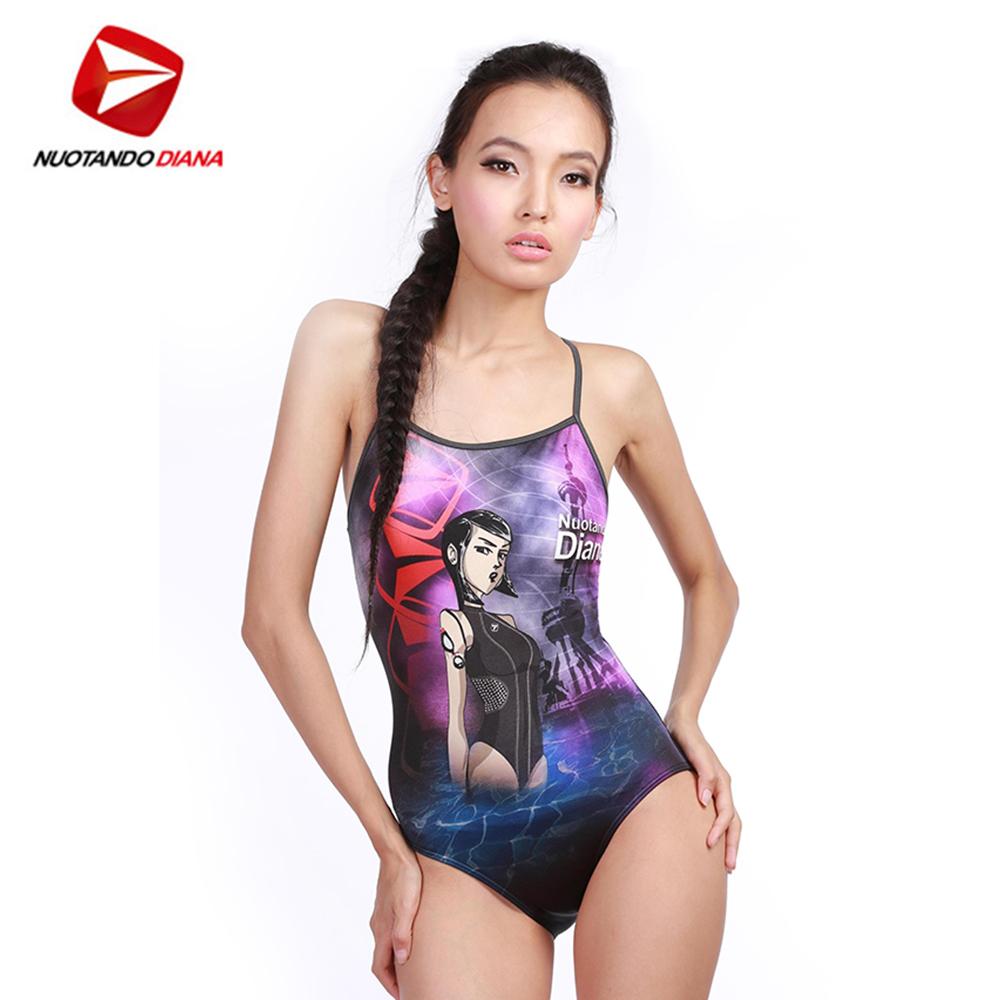 義大利DIANA成人時尚連身泳裝-N110011