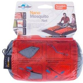 【鄉野情戶外專業】 Sea To Summit |澳洲| Nano Mosquito 驅蚊處理輕量雙人防蚊帳-灰 ANMOSDP