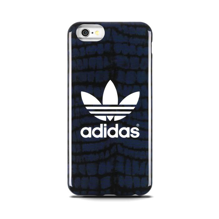 【adidas Originals】4.7吋 iPhone 6/6S 藍黑 軟質保護殼/背蓋/手機套/保護套/手機殼
