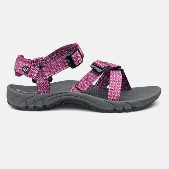【露營趣】中和 美國 RAFTERS 70218R 莓紅女運動涼鞋 水陸鞋 海灘鞋 沙灘鞋 比keen價格優
