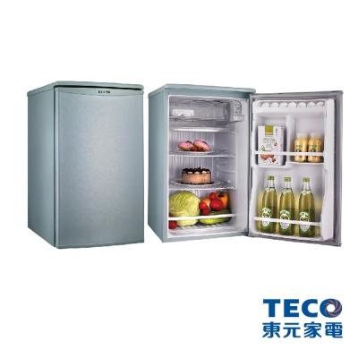 【純米小舖】東元 91公升單門電冰箱R1061(SC/LA)(淺綠灰)