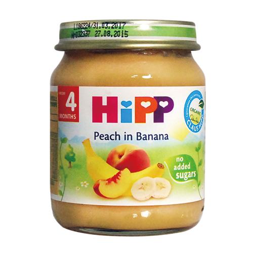 ★衛立兒生活館★喜寶 HiPP 有 機水蜜桃香蕉泥