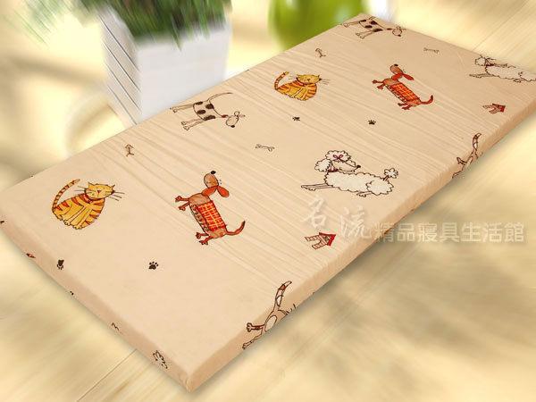 【名流寢飾家居館】可愛家族.100%精梳棉.嬰兒床墊專用布套.全程臺灣製造