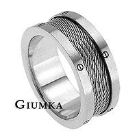 【GIUMKA】魔力熱戀戒指 男女情人對戒316L鋼戒指 銀色款/單個價格