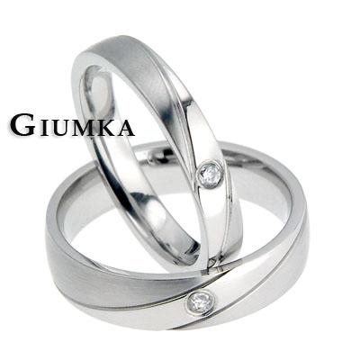【GIUMKA】雙鑽風華戒指 男女情人對戒鋼戒指鋯石/一對價格