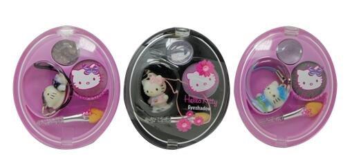 HELLO KITTY 凱蒂貓 閃亮眼影 3款供選 單入1.7g ☆真愛香水★ 女生聖誕交換禮物