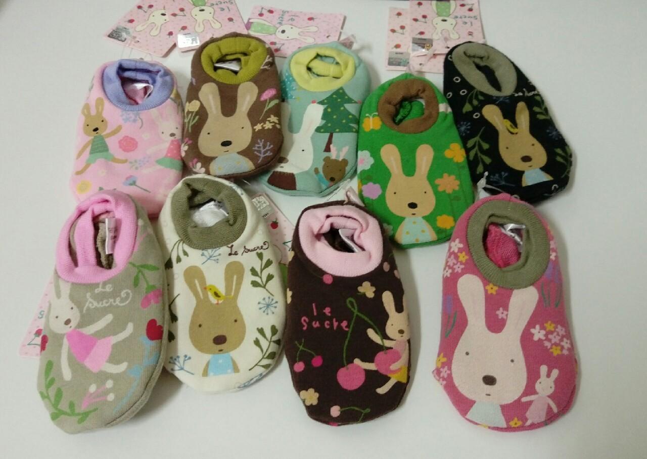 韓國秋冬童裝~正韓居家韓國兔室內船襪 隨機出貨不挑款 現貨