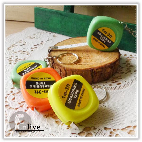 【aife life】迷你鐵捲尺/伸縮捲尺/量尺/鐵尺/捲尺鑰匙圈/可客製化印字/迷你捲尺/旅遊托運/隨身測量