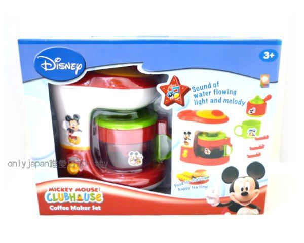 <迪士尼博物館>10010200012迪士尼米奇米老鼠幼兒玩具家家酒-米奇咖啡壺組