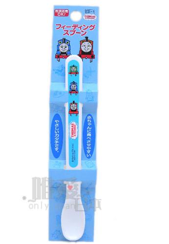 ~*唯愛日本*~C5072600049 THOMAS & FRIENDS 湯瑪士 小火車 白底幼兒湯匙 日本製
