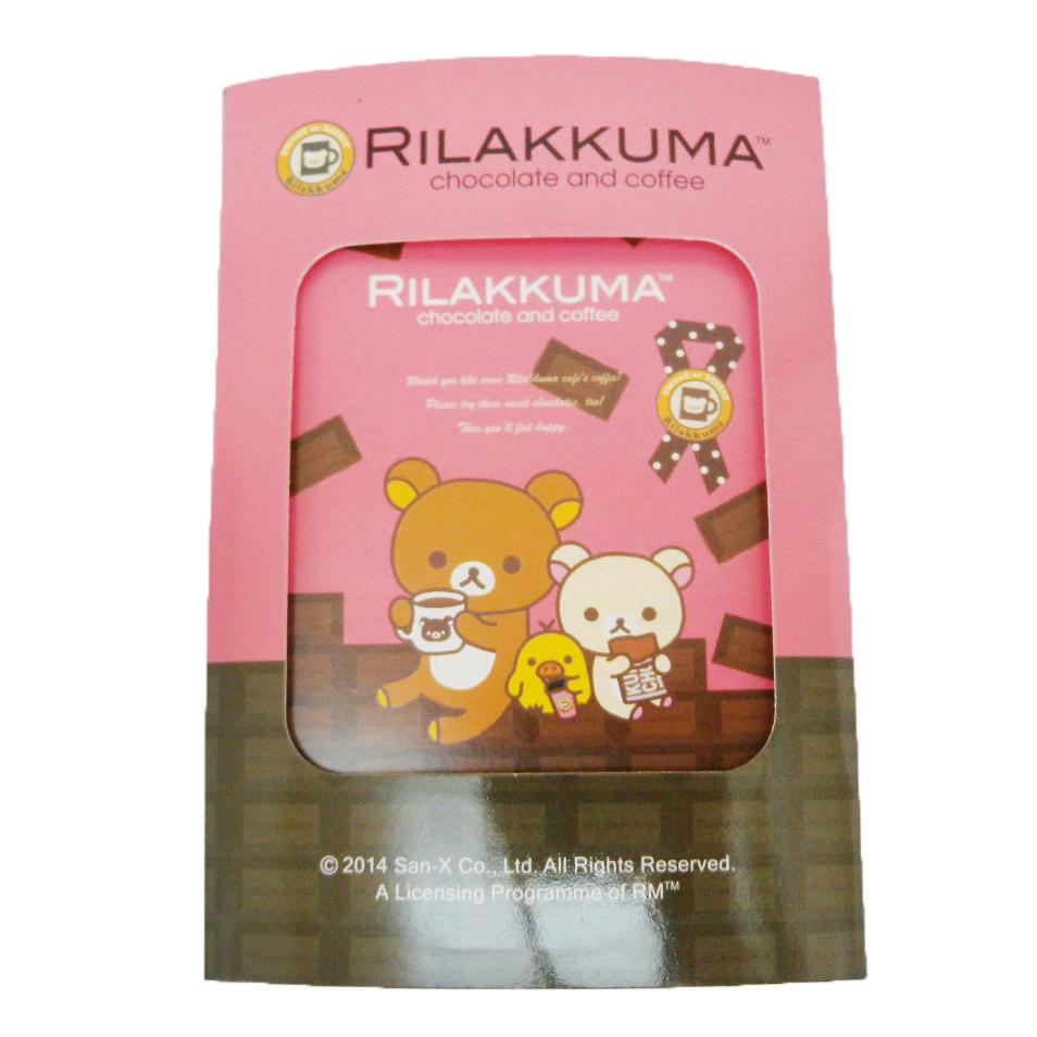 【唯愛日本】14090900009 拉拉熊三折便條本-巧克力 SAN-X 懶熊 奶妹 奶熊 便條紙