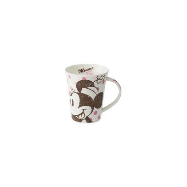 【唯愛日本】14091700029 馬克杯370ML-米妮粉點 迪士尼 米老鼠米奇 米妮 杯子