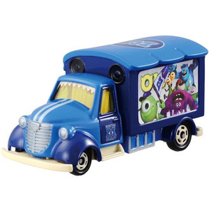 【唯愛日本】14101800002 TOMY車-怪獸大學宣傳車 迪士尼 玩具總動員 怪獸電力公司 多美小汽車 擺飾 收藏