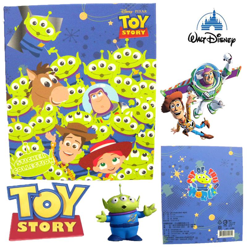 【唯愛日本】15011700019 精裝收集冊-三眼Q版家族 迪士尼 玩具總動員 TOY 卡片本 正品