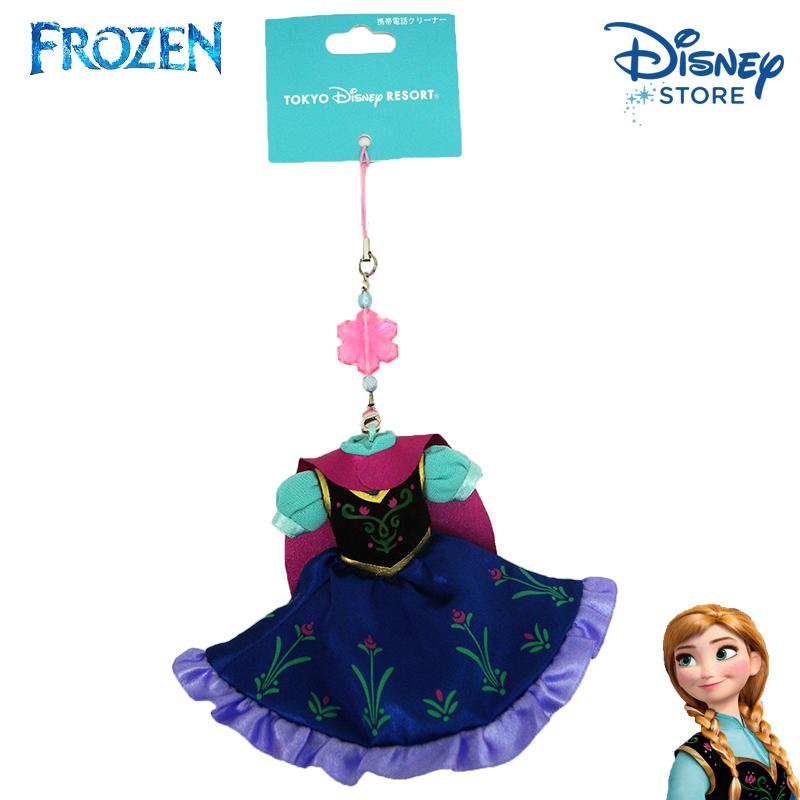 【唯愛日本】15020100054 樂園限定公主禮服-安娜 迪士尼 冰雪奇緣 Frozen 吊飾 飾品 限量 正品 日本帶回
