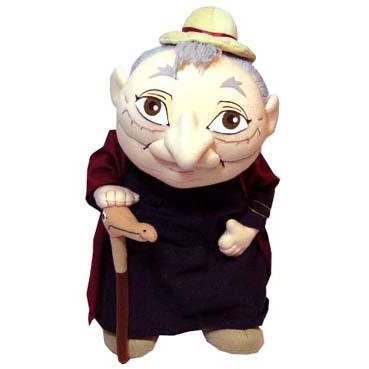 ﹝宮崎駿會館﹞15042900015人形擺飾-蘇菲老婆婆(絕版品) 霍兒的移動城堡 娃娃 玩偶 正品 限量