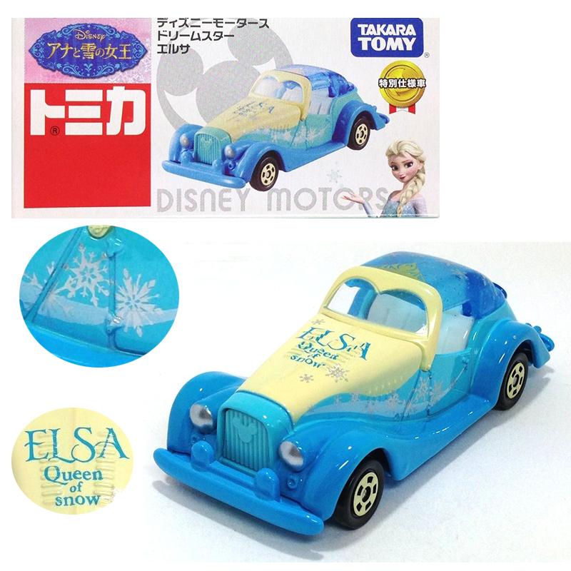 【真愛日本】15051300003 TOMY車-愛莎公主 迪士尼 冰雪奇緣 Frozen 玩具 小車 正品 限量 預購