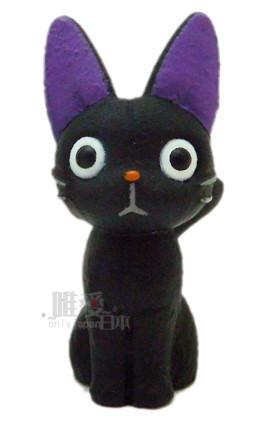 【真愛日本】 12022100001 指套娃娃-奇奇娃娃 魔女宅急便 黑貓 奇奇貓 日貨