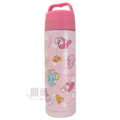 【唯愛日本】13111500008 真空隨手杯--松鼠 三麗鷗 Hello Kitty 凱蒂貓 保溫杯 咖啡杯 正品