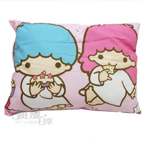【唯愛日本】12080700027 童枕-吃點心 三麗鷗 Hello Kitty 雙子星 枕頭 方枕 舒眠枕