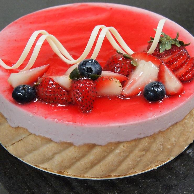 紅莓夏洛特 蛋糕 (6吋/8吋)