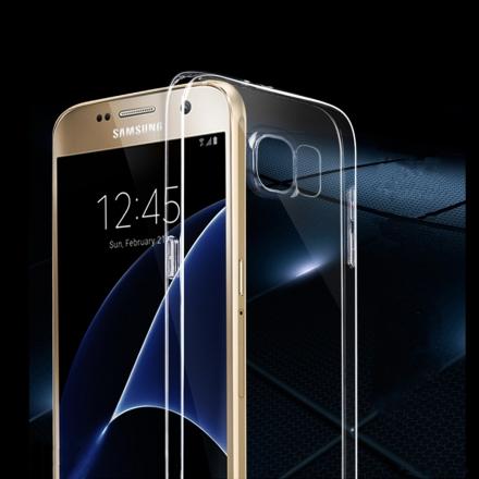 三星 Samsung Galaxy S7 輕薄透明 TPU 高質感軟式手機殼/保護套 微凸鏡頭保護