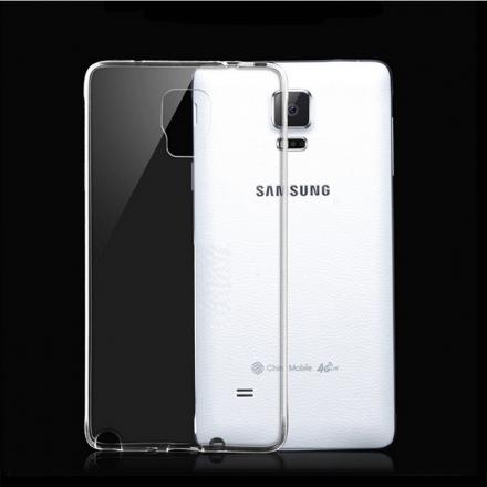 Aguchi Samsung 三星 Galaxy Note4 超薄 TPU 透明軟式手機殼/保護套