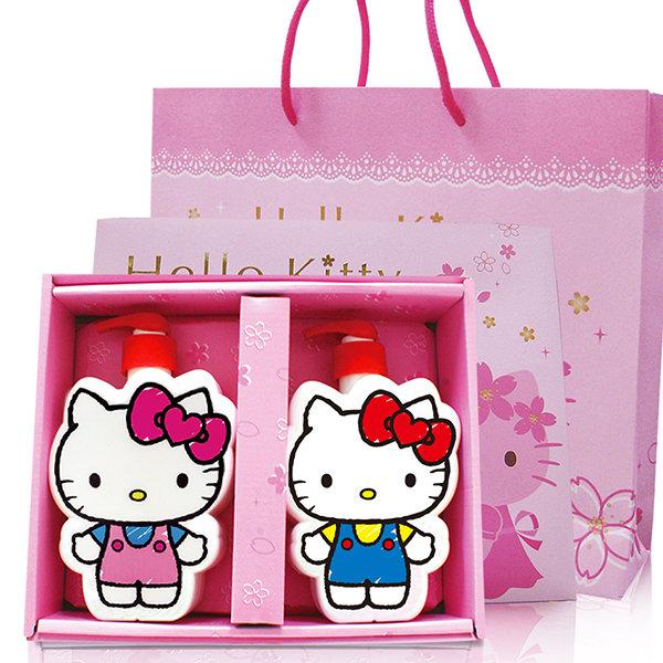 【Aguchi 亞古奇】 ☆Hello Kitty☆ 凱蒂貓『40週年限定』插畫風造型SPA禮盒