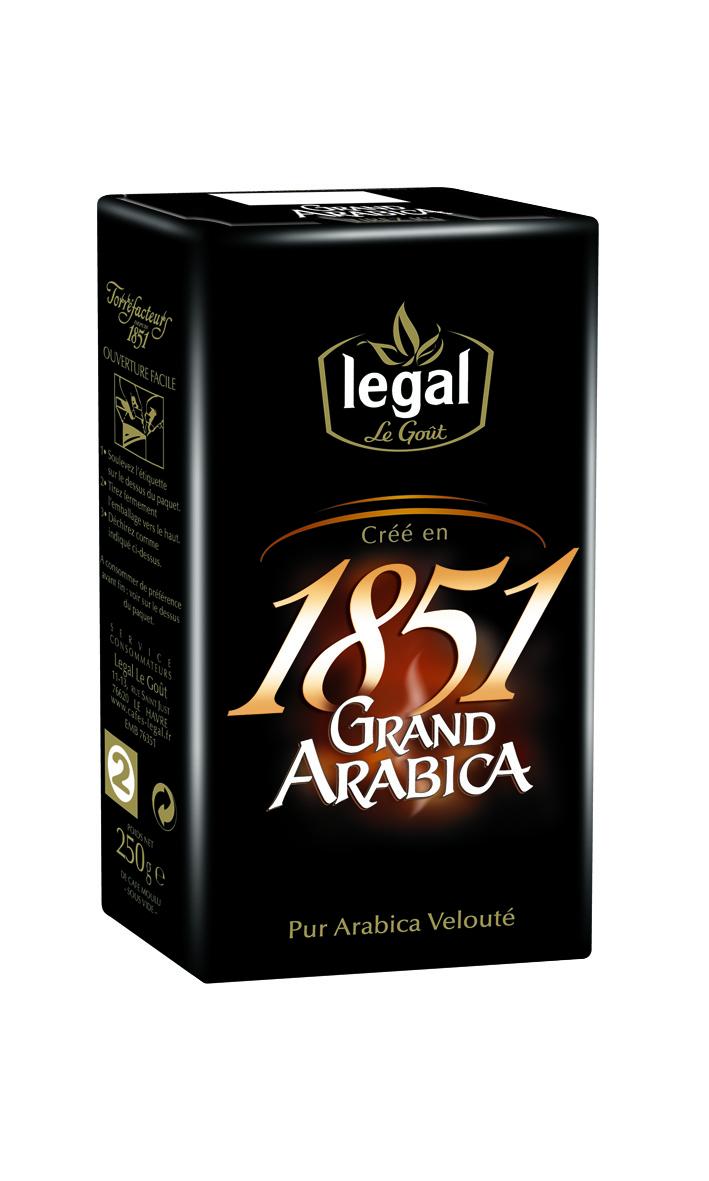 Legal 經典1851研磨咖啡組(5包入,買4送1組合)