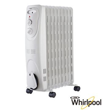 Whirlpool 惠而浦 WORM09W 9片葉機械式葉片式 電暖器  免運 0利率 公司貨 日立可參考