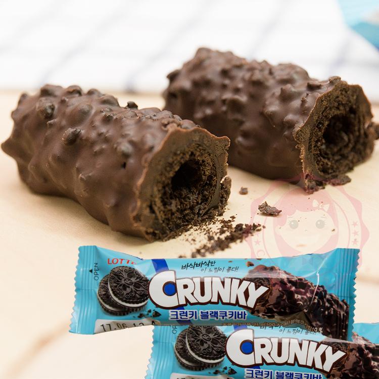 韓國LOTTE CRUNKY巧克力棒(21g)【庫奇小舖】進口/團購/零食/餅乾