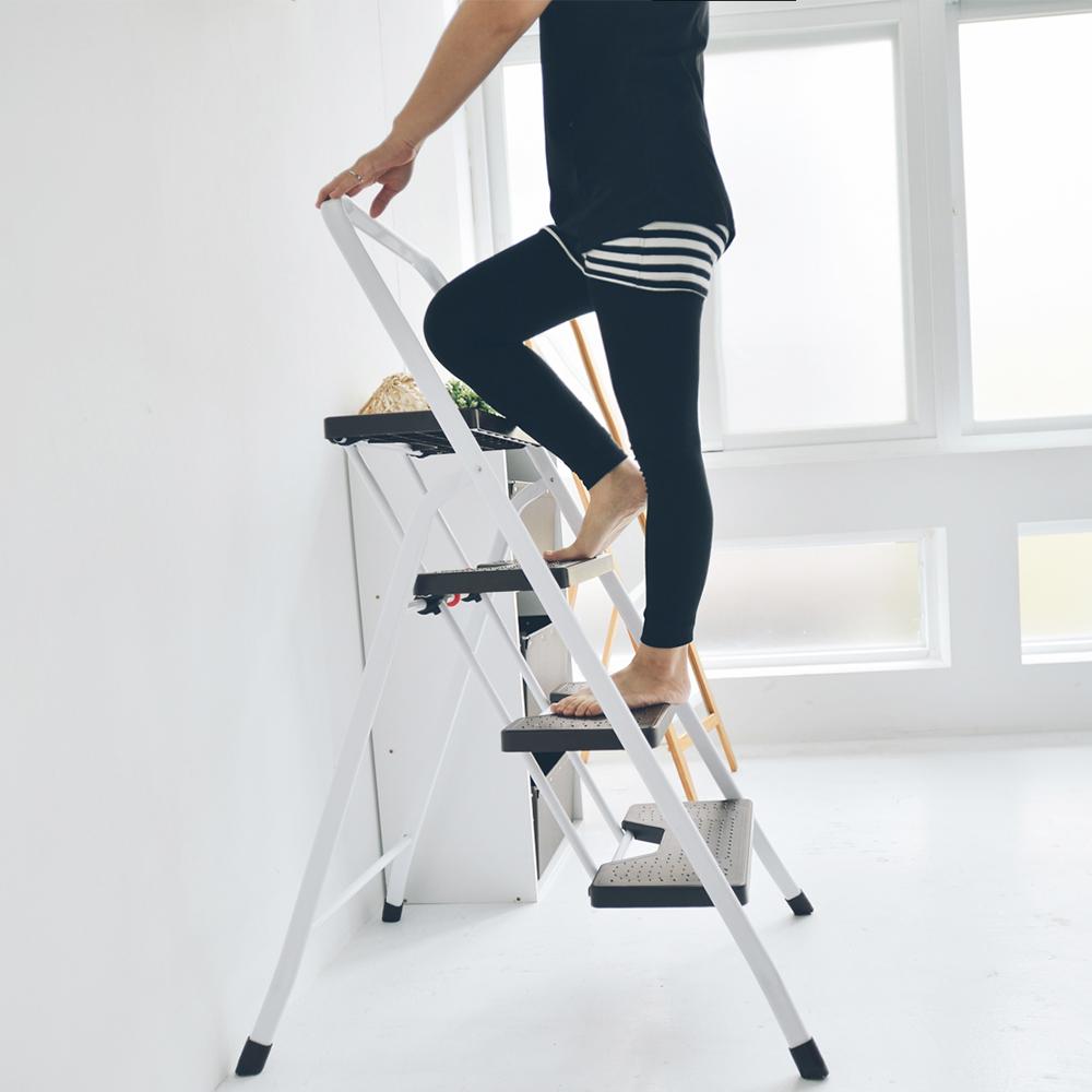 三層折疊家用梯/樓梯椅 MIT台灣製 完美主義 馬椅梯 A字梯【R0050】
